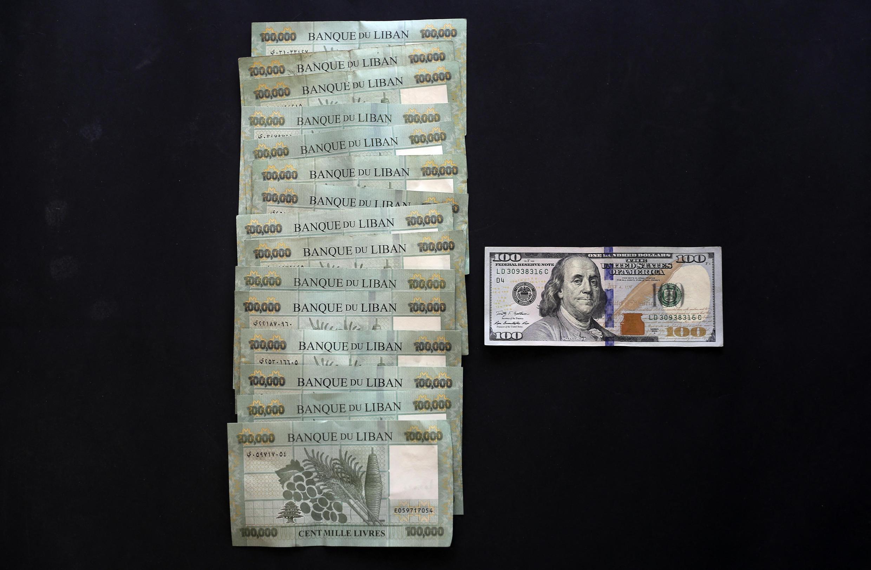 Dévaluation livre libanaise