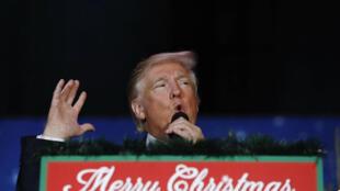 Donald Trump, Presidente-eleito dos Estados Unidos. 16 de Dezembro  de 2016
