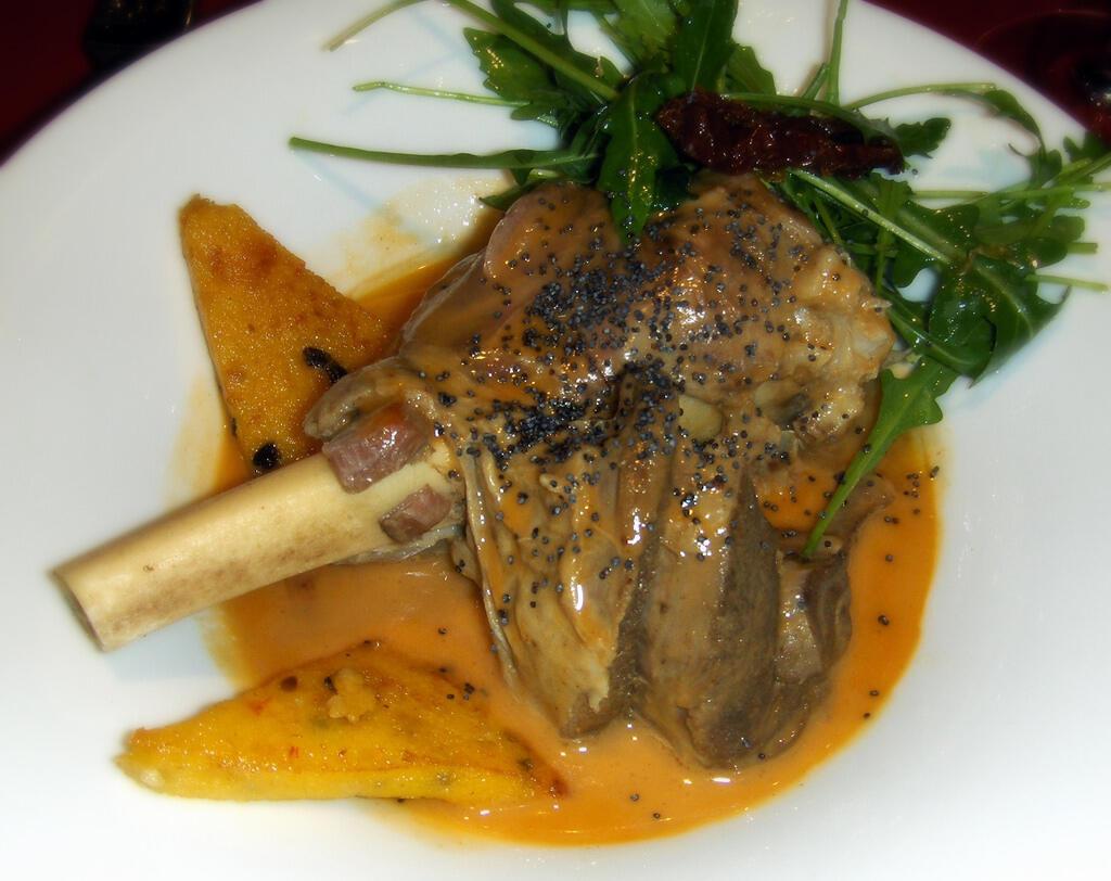 香酥小羊腿肉(La Souris d'agneau)