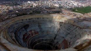 Рудник «Мир» в Якутии (фото из архива)