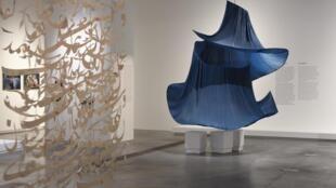 L'exposition «Kharmohra, L'Afghanistan au risque de l'art» se tient jusqu'au dimanche 1 mars 2020. La scénographie a été imaginée par Anaide Nayebzadeh.