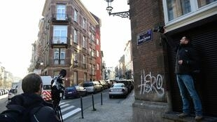 La rue Henri-Bergen, à Schaerbeek. En décembre, la police y a retrouvé des ceintures, des traces d'explosifs et une empreinte de Salah Abdeslam.