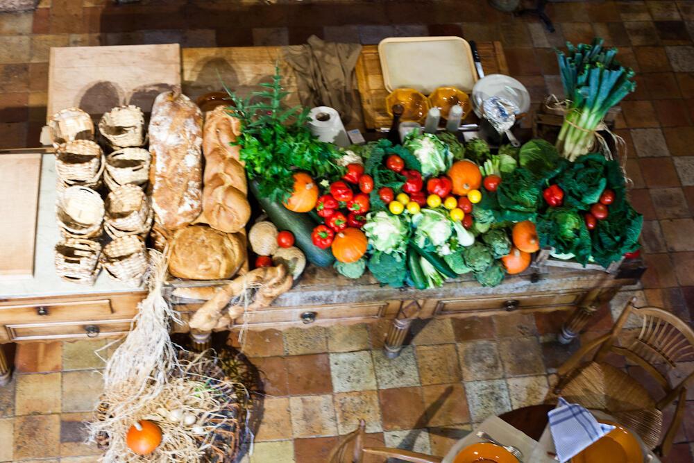 Южане едят больше фруктов и овощей, поэтому меньше страдают от ожирения