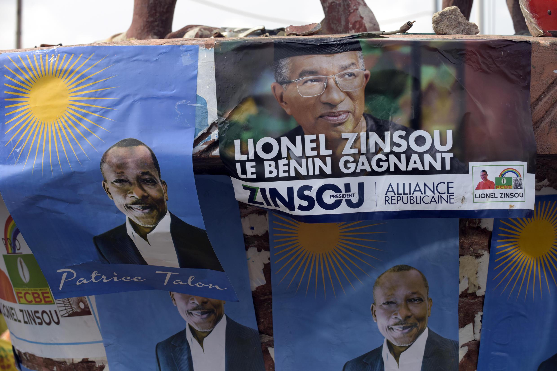 Au Bénin, l'homme d'affaires Patrice Talon l'a emporté face au premier ministre sortant Lionel Zinsou lors du 2e tour des présidentielles, le 20 mars 2016.