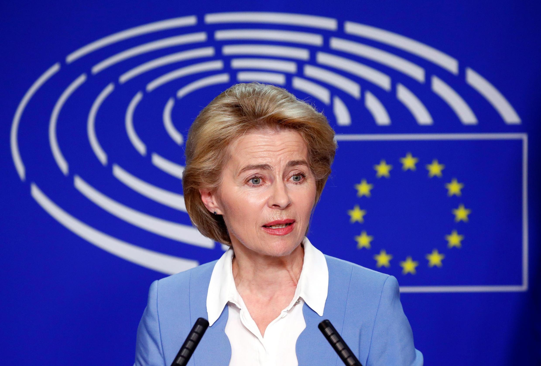 Глава Еврокомиссии Урсула фон дер Ляйен.