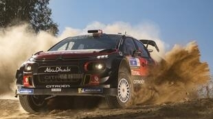 Nine-time WRC champion Sebastien Loeb competes his first WRC rally for more than three years