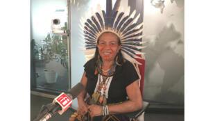 Ivanice Pires Tanoné, une des seules femmes caciques (cheffe de tribu) du Brésil, se bat pour la défense du territoire de son peuple Kariri Xocó.