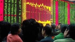 中国股市周二继续下滑
