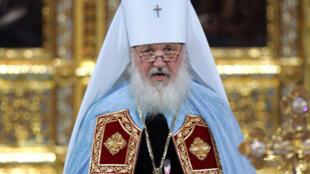 Thượng phụ Giáo hội chính thống Nga Kirill (Reuters)