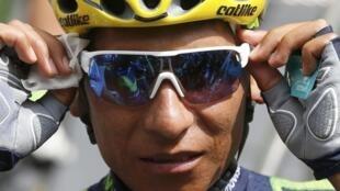 El colombiano Nairo Quintana (Movistar).