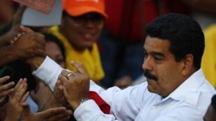 O presidente da Venezuela, Nicolás Maduro, propôs uma conferência nacional de paz neste 26 de fevereiro de 2014.