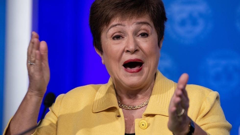 Shugabar asusun bada lamuni na duniya IMF Kristalina Georgieva