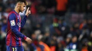 Dan wasan Barcelona Neymar na Brazil