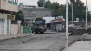 Танки в городе Хомсе, 24 ноября 2011.