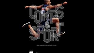 """Couverture du catalogue de l'exposition """"Corps et sport"""" qui se tient à la Cité des Sciences, à Paris."""
