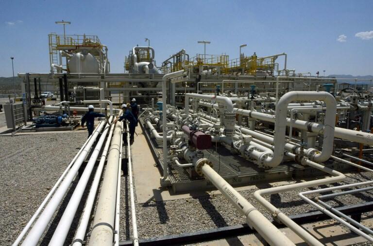 Le champ pétrolier et l'usine de Tawke, dans la région kurde autonome, en Irak (photo d'illustration).
