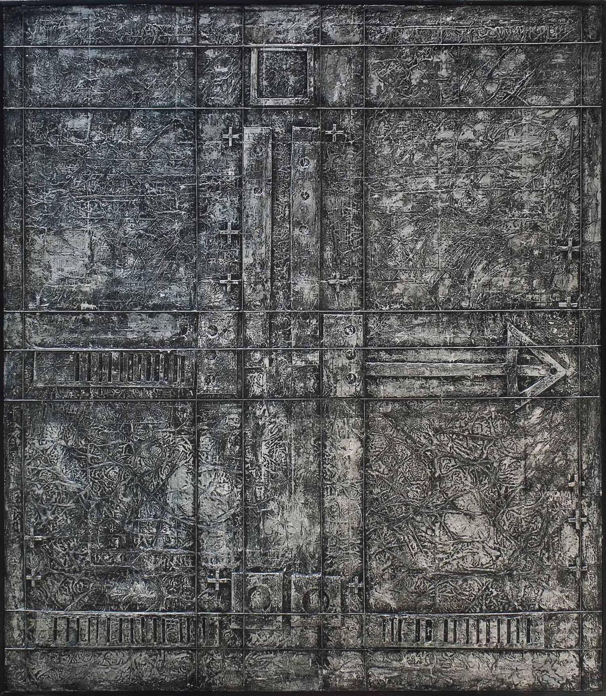 Massoud Arabshahi (Iranian, b. 1935) | Beyond the Lines | 20th Century, Paintings | Christie's