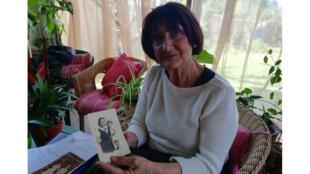María Amparo Sánchez Monroy Martínez, 80 ans, est passée par le camp d'Argelès-sur-Mer avec ses parents quand elle avait 10 mois.
