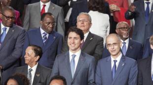 Waziri Mkuu wa Canada Justin Trudeau miongoni mwa wakuu wa nchi na Serikali waliokuwepo katika mkutano wa kumi na sita ya Francophonie.