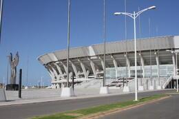 Estádio Nacional do Zimpeto, em Moçambique, de construcção chinesa