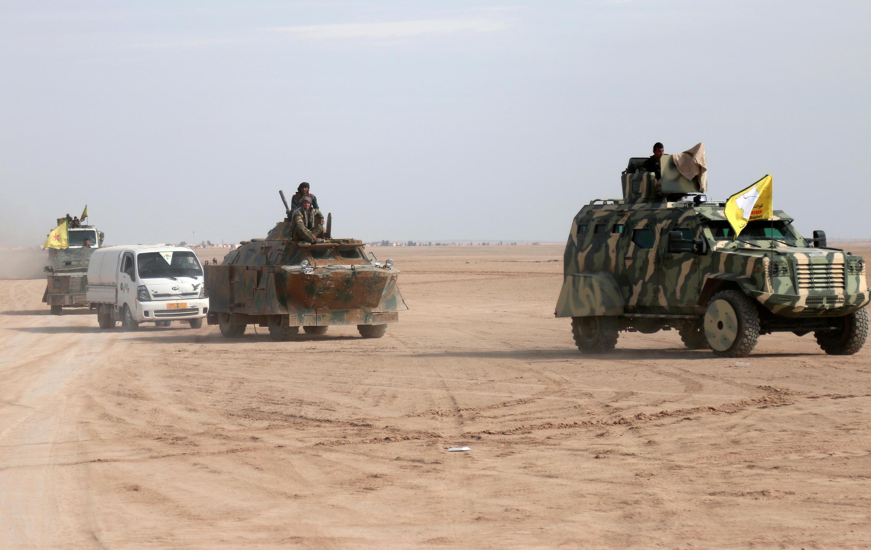 """نیروهای ائتلاف کرد و عرب سوریه که """"نیروهای دمکراتیک سوریه"""" نیز نامیده می شوند، هم اکنون در نزدیکی شهر رقه هستند."""