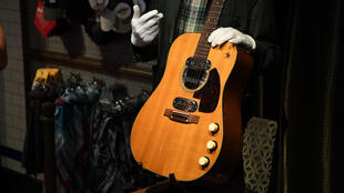 Kurt Cobain's guitar sold for 6 million dollars in Beverly Hills (California) on 20 June, 2020.