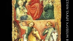 """""""Le chariot de Ferrare"""", uno de los tesoros del Museo francés de los juegos de cartas."""