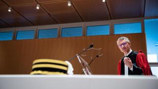 Le procureur de la République antiterroriste Jean-François Ricard en charge du parquet national antiterroriste qui a sorti l'ordonnance de mise en accusation concernant les attentats du 13-novembre.