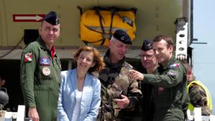 La ministre de la Défense Florence Parly sera présente à la cérémonie présentant le nouveau logo de l'armée de l'Air et de l'Espace. Ici, lors d'une conférence de presse le 26 novembre 2019 à Paris.
