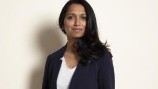 Portrait de la romancière Nathacha Appanah.