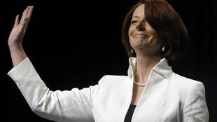 Julia Gillard, Australia's prime minister, on 21 August