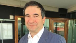 Dov Alfon, le commissaire de l'exposition «Les séries israéliennes» au MUCEM.