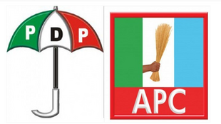 APC and PDP are tha major political parties in Nigeria