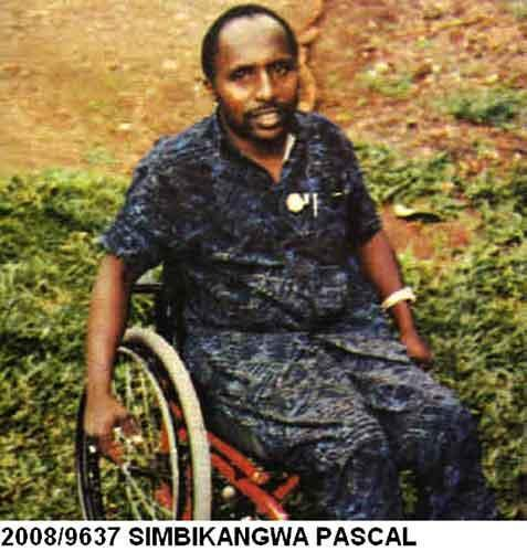 Photo d'archive de Pascal Simbikangwa.