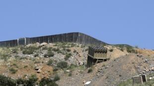 Une batterie du système anti-missiles israélien «Iron Dome» située sur le mont Hermon, partiellement occupé par Tsahal, le 2 juin 2019 (image d'illustration).