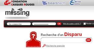 Missing.net est un moteur de recherche de personnes disparues qui permet aux gens de donner des infos sur des personnes dont on n'a plus de nouvelles.