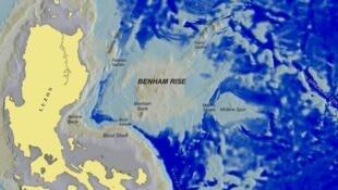 Khu vực Benham Rise của Philippines