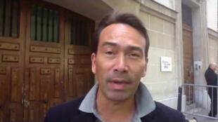 France 24 reporter Cyril Payen