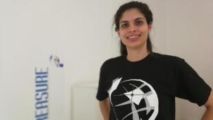 A doutoranda brasiliense Juliana Damaceno.