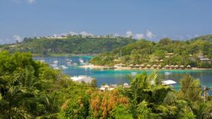 Port-Vila, the capital of Vanuatu.