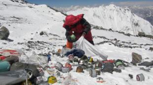 Экологическая экспедиция на Эверест, май 2010 г.