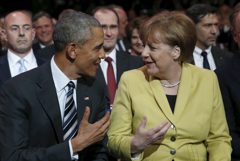 美國總統奧巴馬2016年4月24到25日訪問德國。