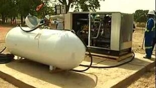 Le site pétrolier de Petroma à Bourakebougou au Mali, c'est là que l'on a découvert de l'hydrogène pur à 98 %.