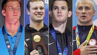 Os quatro nadadores mentiram sobre assalto