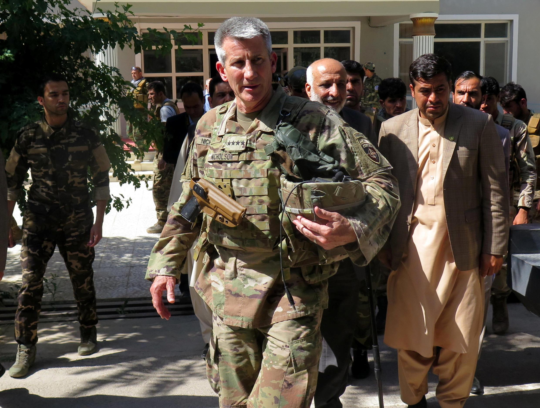 جان نیکلسون، افسر عالی رتبهی ارتش امریکا و فرمانده کنونی نیروهای آمریکایی مستقر در افغانستان - تصویر آرشیوی