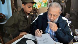 Fidel Castro em foto de arquivo, de 2014.