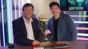 Alejandro Sandler con Jordi Batallé en el estudio 151