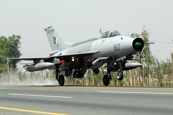 巴基斯坦戰機2010年