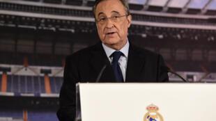 Florentino Perez, le président du Real Madrid.