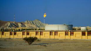 Site pétrolier de Tabi sur l'île de Qeshm dans le détroit d'Ormuz (Iran).